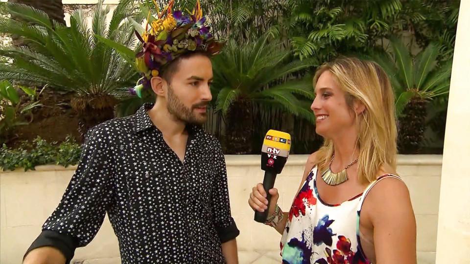 Dschungelcamp 2016: Dschungelkönig Menderes Bagci und RTL-Reporterin Susanna Schumacher