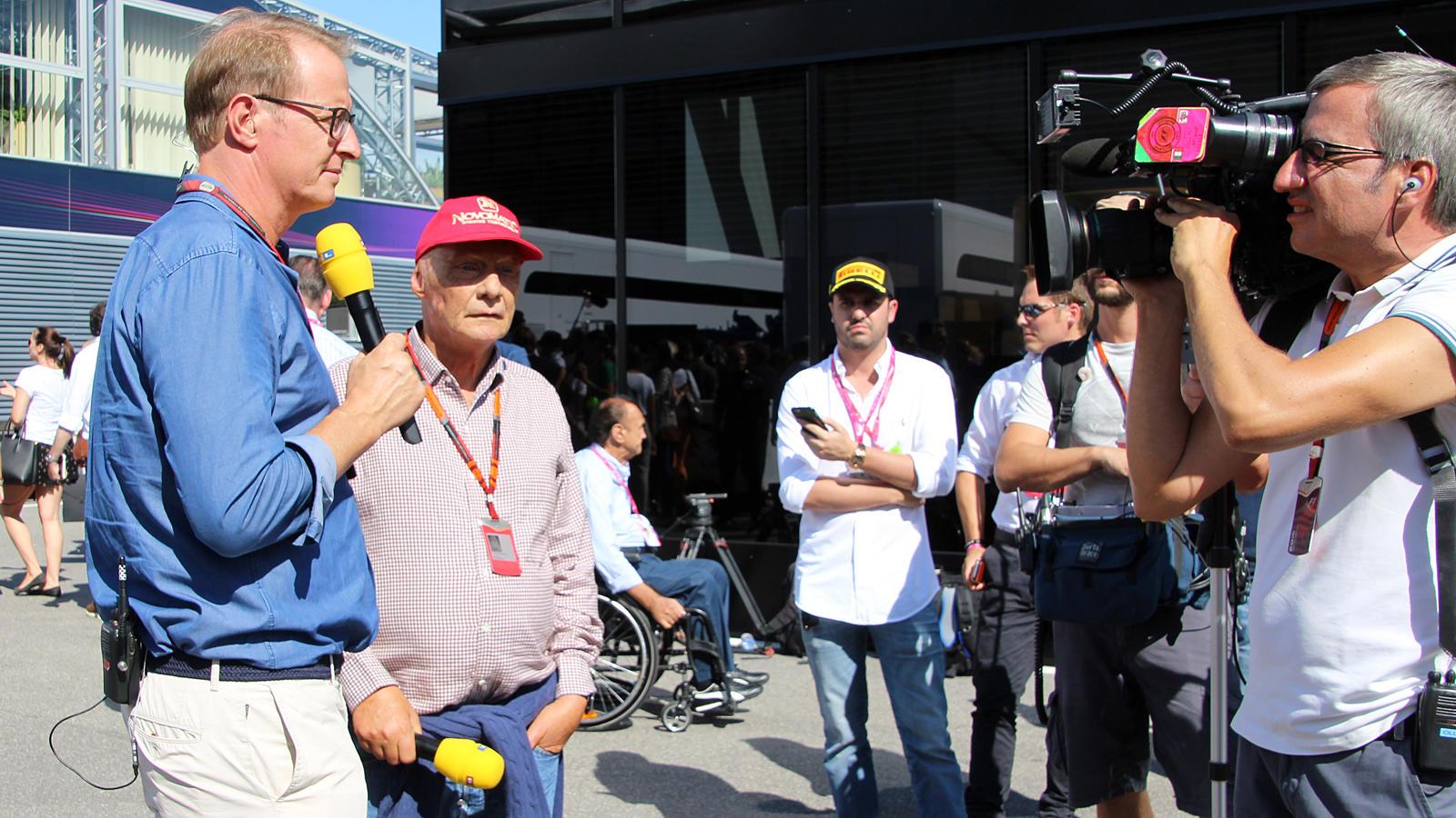 2017 erzielte RTL mit den Übertragungen der Formel 1  erneut gute Quoten.