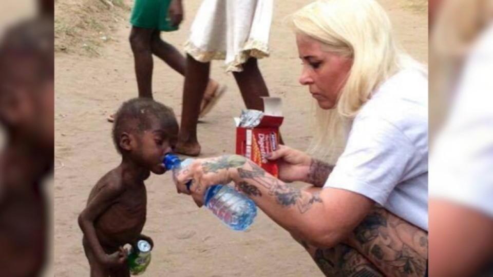 Anja Ringgren Lovén fand Hope auf den Straßen Nigerias