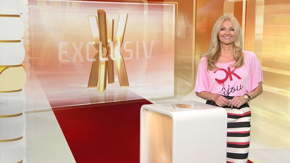 Frauke Ludowig ist die Moderatorin von 'Exclusiv - Das Starmagazin'.
