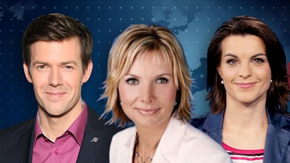 Maik Meuser, Ilka Eßmüller und Isabelle Körner moderieren das 'RTL Nachtjournal'.