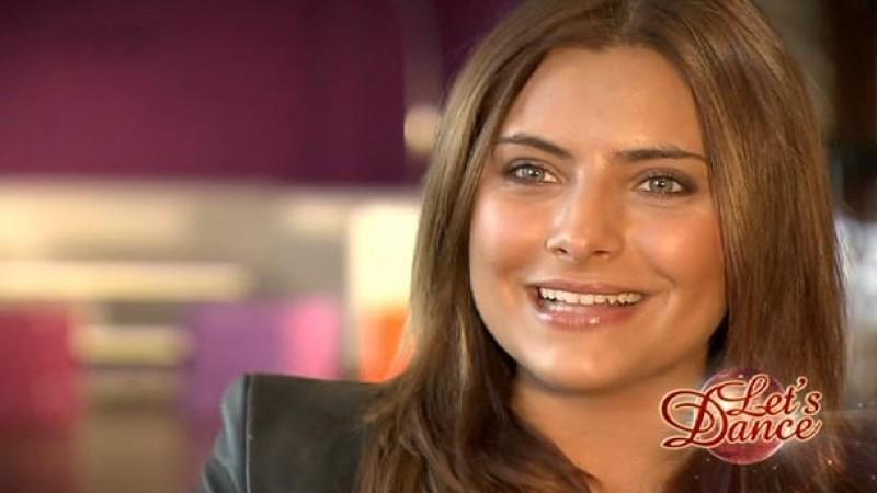 """Die Schauspielerin Sophia Thomalla ist der """"Dancing Star 2010""""."""