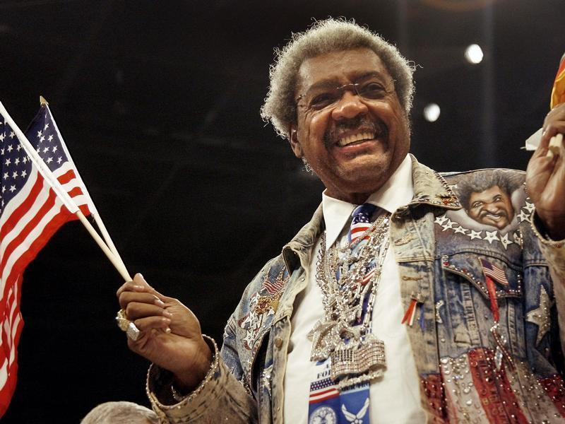 Boxpromoter Don King feiert seinen 80. Geburtstag.