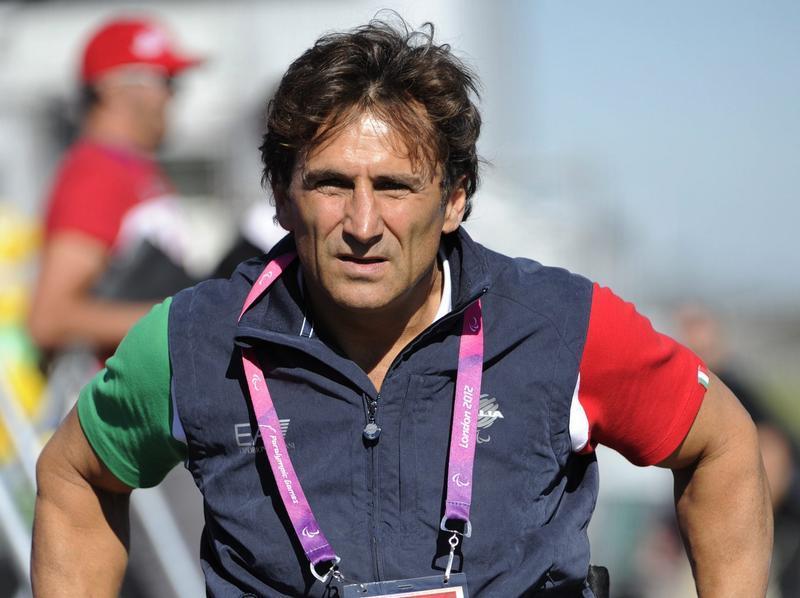 Alessandro Zanardi hatte 2001 bei einem Renn-Unfall beide Beine verloren. Foto: Facundo Arrizabalaga
