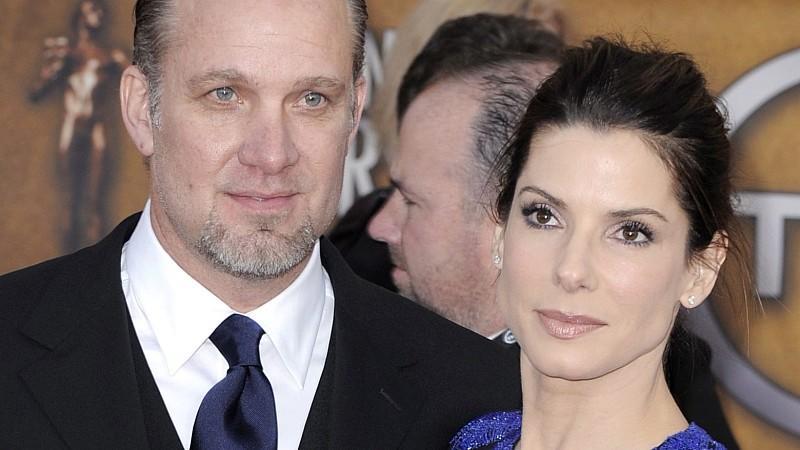 Hollywoodstar Sandra Bullock und ihr  Ex-Ehemann Jesse James