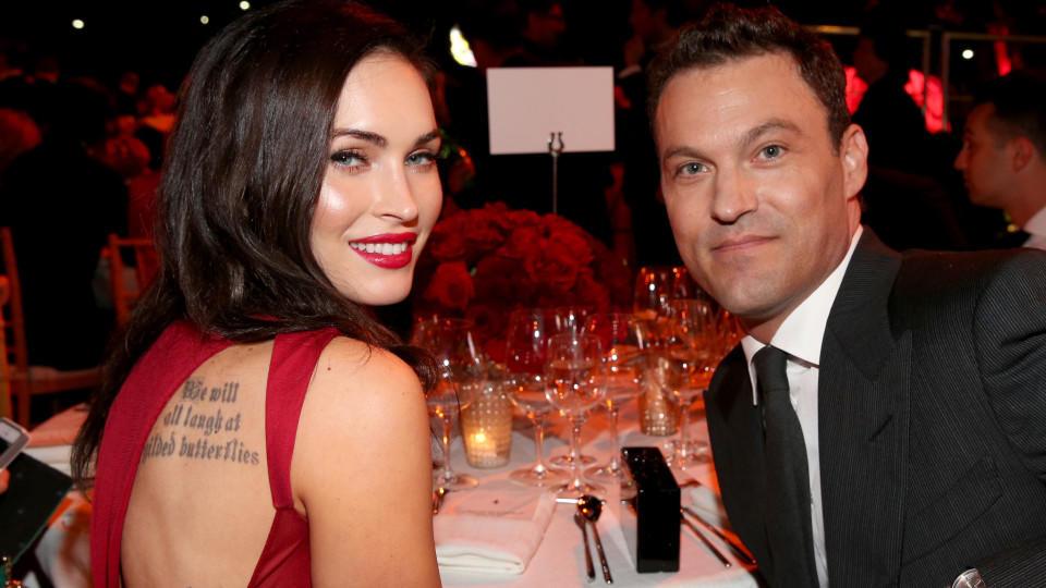 Megan Fox und Brian Austin Green in glücklichen Tagen