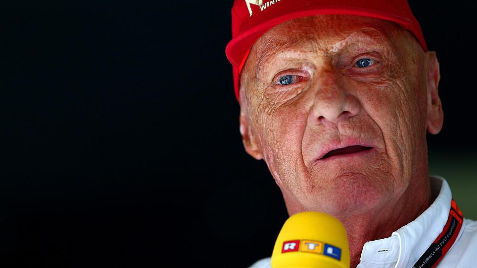 Ex-Weltmeister Niki Lauda arbeitet seit 1995 als Formel-1-Experte für RTL.