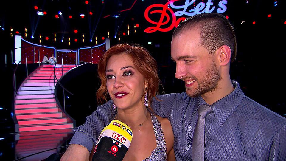 """Eric Stehfest und Oana Nechiti verraten ihre Pläne nach dem Aus bei """"Let's Dance""""."""