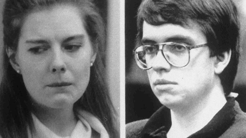 Elizabeth Haysom und Jens Söring im Jahr 1990.