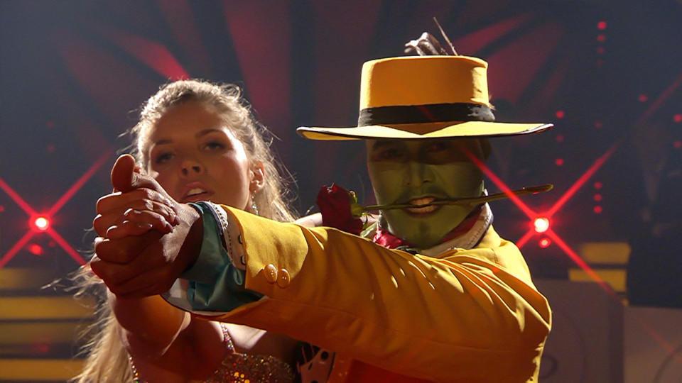 """Let' Dance 2016: Victoria Swarovski und Erich Klann mit ihrem Freestyle zu """"Die Maske"""""""