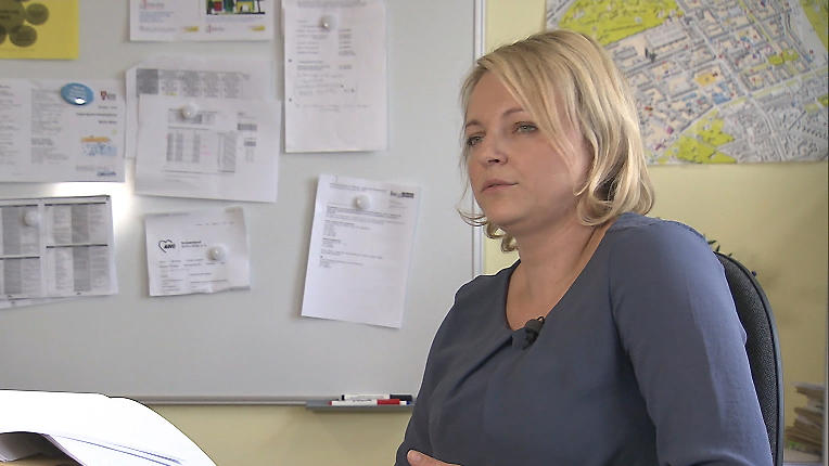 Sozialpädagogin Monika Wallor vom Jugendamt Berlin-Mitte