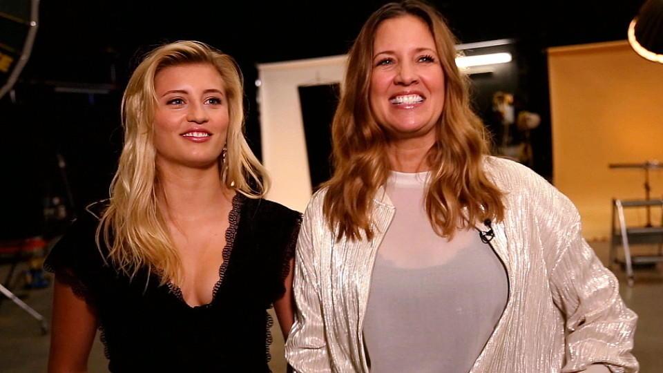 """Die """"Dance Dance Dance""""-Kandidatinnen Dana und Luna Schweiger."""