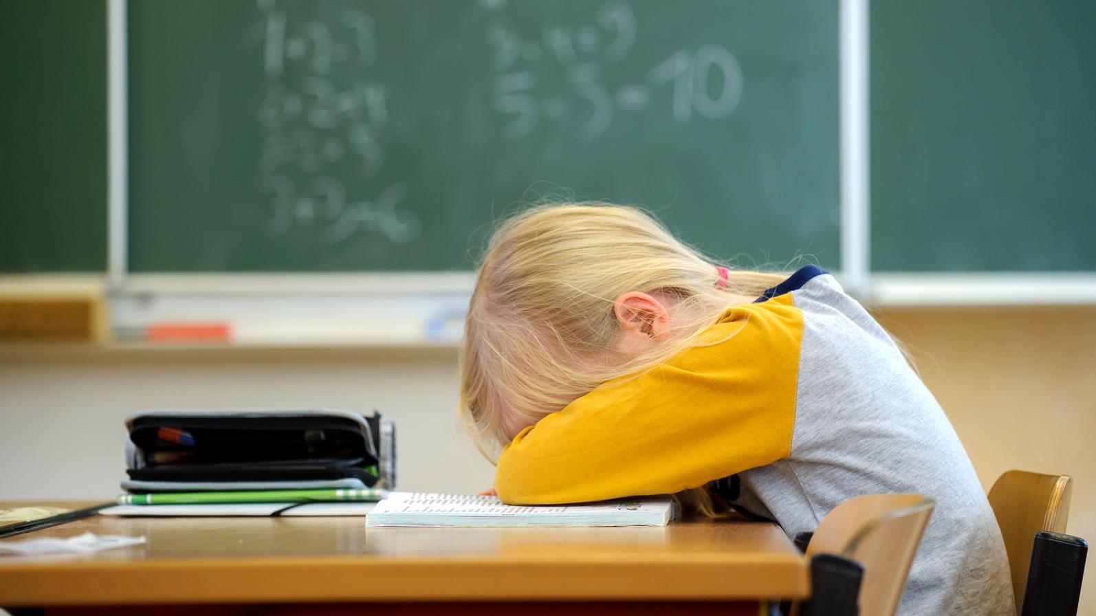 Der Inzidenzwert für Schulschließungen soll herabgesetzt werden (Symbolbild)