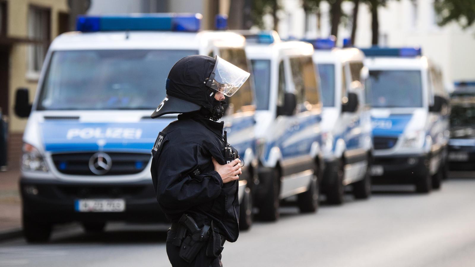 Polizei-Einsatz (Symbolfoto)