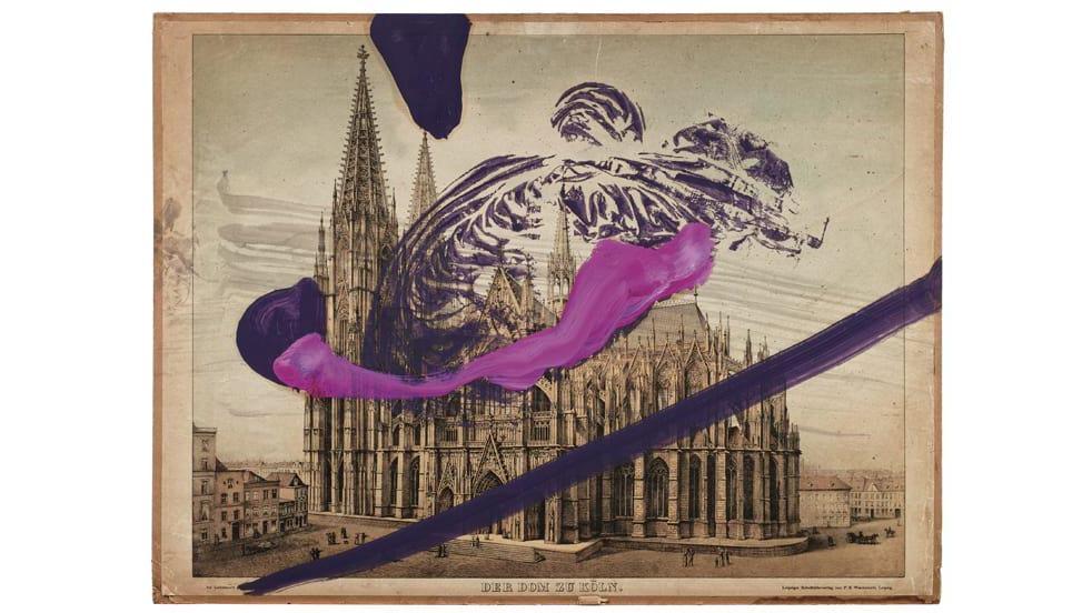 Bisher ohne Titel: Julian Schnabels Kunstwerk zum Kölner Dom.