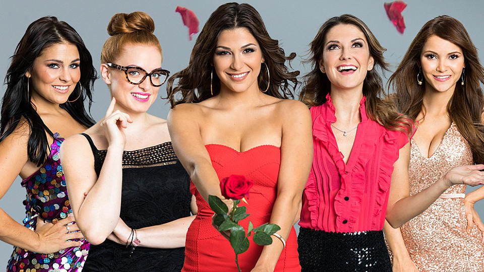 Fünf der 22 Bachelor-Ladys: Julia F., Alesa, Inci, Viola und Kattia wollen den Bachelor erobern.