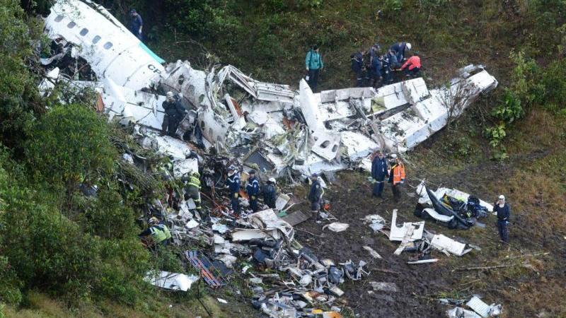 Flugzeugabsturz in Kolumbien