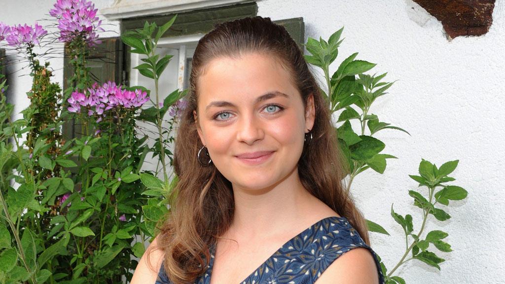 """Ronja Forcher spielt seit 2008 in der ZDF-Serie """"Der Bergdoktor"""" mit."""
