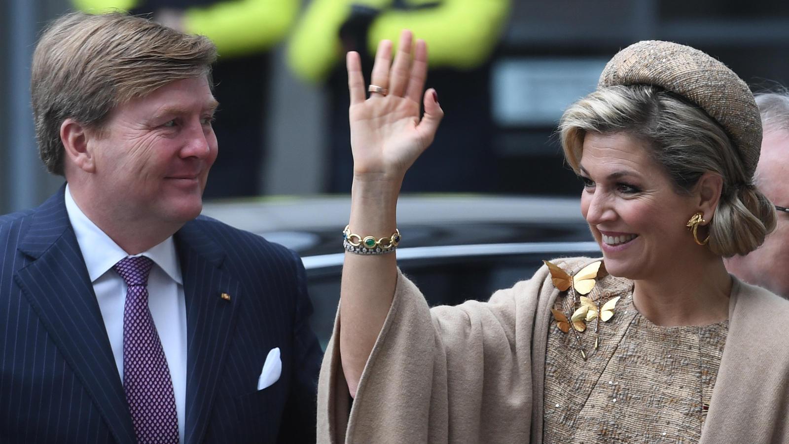 Momentan shoppen sie sich durch New York: König Willem-Alexander und Königin Máxima.