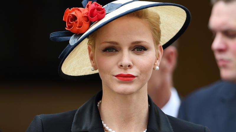 Charlène von Monaco sitzt immer noch in Südafrika fest.