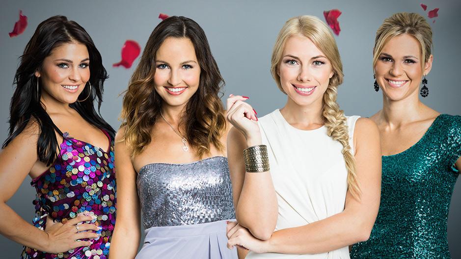 """In der fünften """"Nacht der Rosen"""" bekommen Julia F., Cara, Janika und Sabrina keine Rose von Sebastian."""