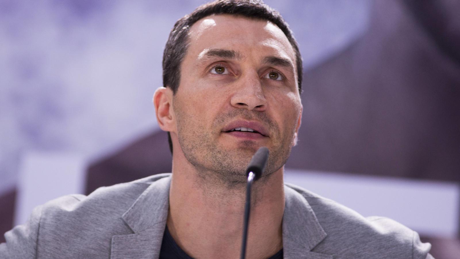 Wladimir Klitschko will Anthony Joshua unbedingt schlagen.