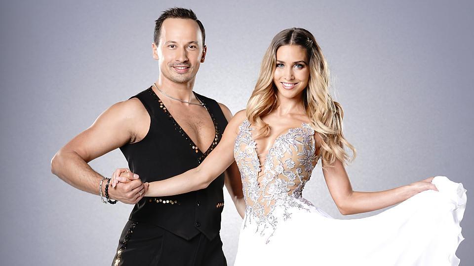 """Ann-Kathrin Brömmel tanzte in der Jubiläumsstaffel von """"Let's Dance"""" mit Tanzpartner Sergiu Luca."""
