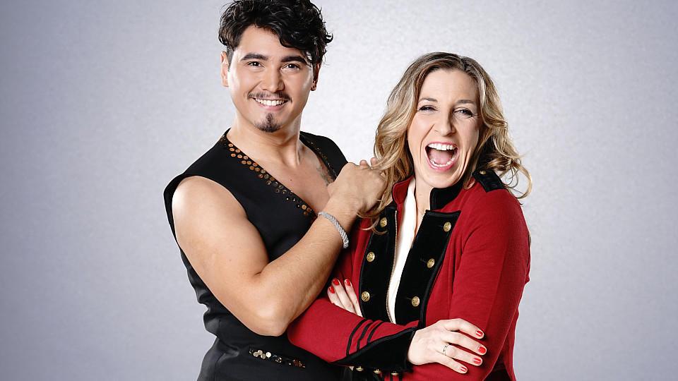 """Anni Friesinger-Postma ist Kandidatin bei """"Let's Dance"""" 2017 und tanzt  mit Profitänzer Erich Klann."""