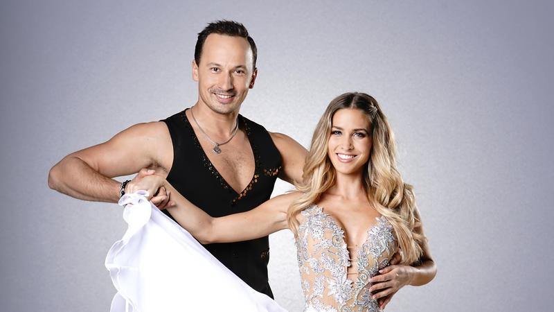 """Ann-Kathrin Brömmel und Sergiu Luca tanzten zusammen bei """"Let's Dance"""" 2017."""