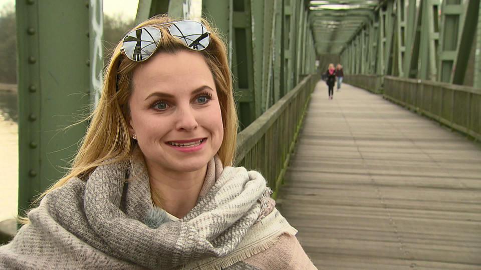 Profitänzerin Sarah Latton hofft, dass Bastiaan Ragas schnell wieder gesund wird.