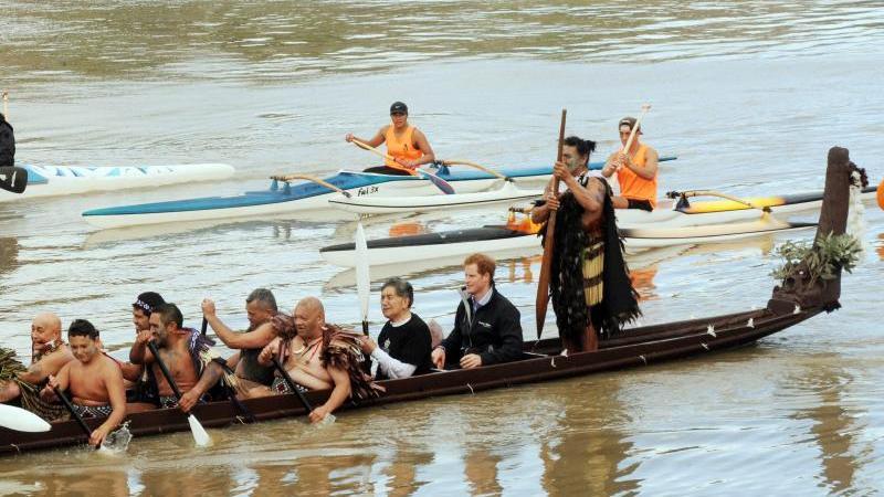 Auch Prinz Harry hat den Fluss schon besucht.