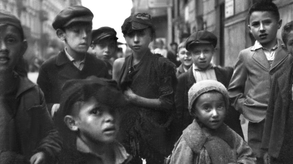 Warschauer Ghetto: Jüdische Kinder (während der deutschen Besatzung Polens 1939-1945)