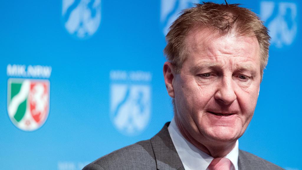 Der nordrhein-westfälische Innenminister Ralf Jäger (SPD)