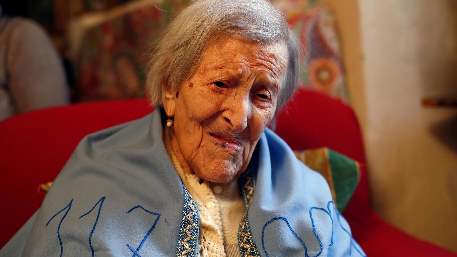 Emma Morano starb den Berichten zufolge im Beisein ihrer Verwandten und ihrer Pfleger.