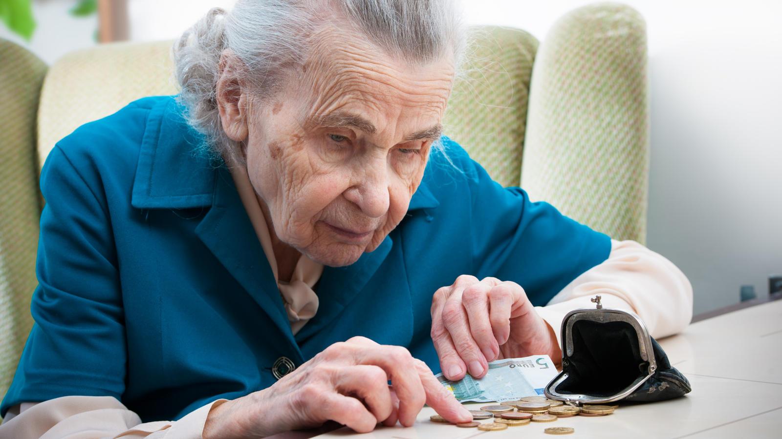 Die meisten Rentner erhalten weniger als 1.500 Euro.