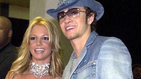 Britney Spears und Justin Timberlake bei einem gemeinsamen Auftritt vor 20 Jahren.