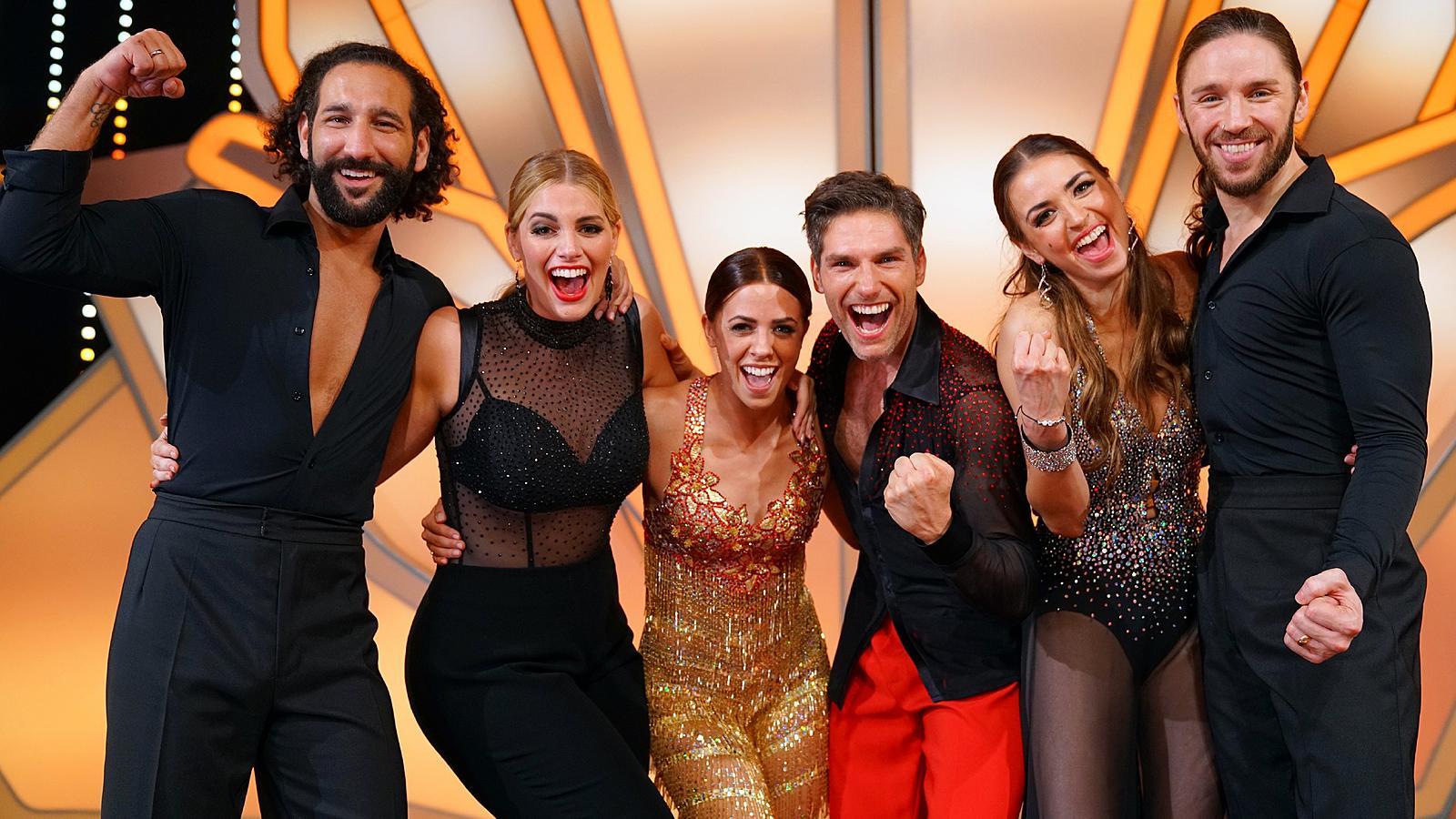 """Angelina Kirsch, Vanessa Mai und Gil Ofarim haben im großen Finale von """"Let's Dance"""" 2017 um den Sieg getanzt."""