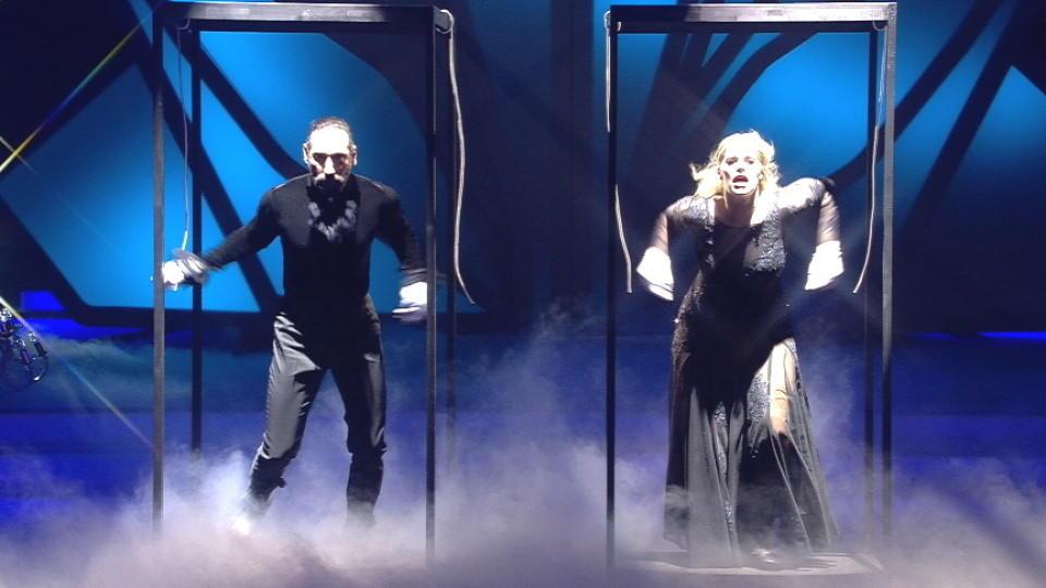 """Die """"Let's Dance""""-Finalisten Angelina Kirsch und Massimo Sinató"""