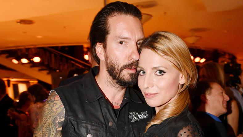 BossHoss-Sänger Alec Völkel und seine Frau Johanna
