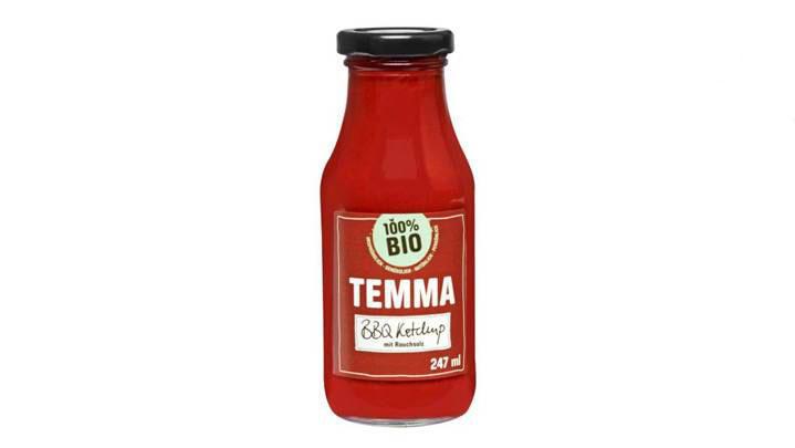 Fehlerhafte Allergenkennzeichnung – Hersteller ruft 'TEMMA – BBQ Ketchup' zurück!