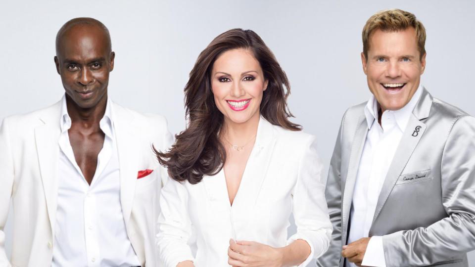 Sie suchen das neue Supertalent: Bruce Darnell, Nazan Eckes und Dieter Bohlen.