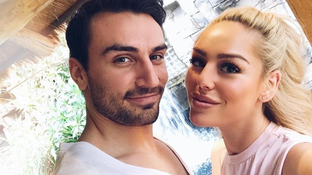 Samantha und ihr Freund Oleg Justus