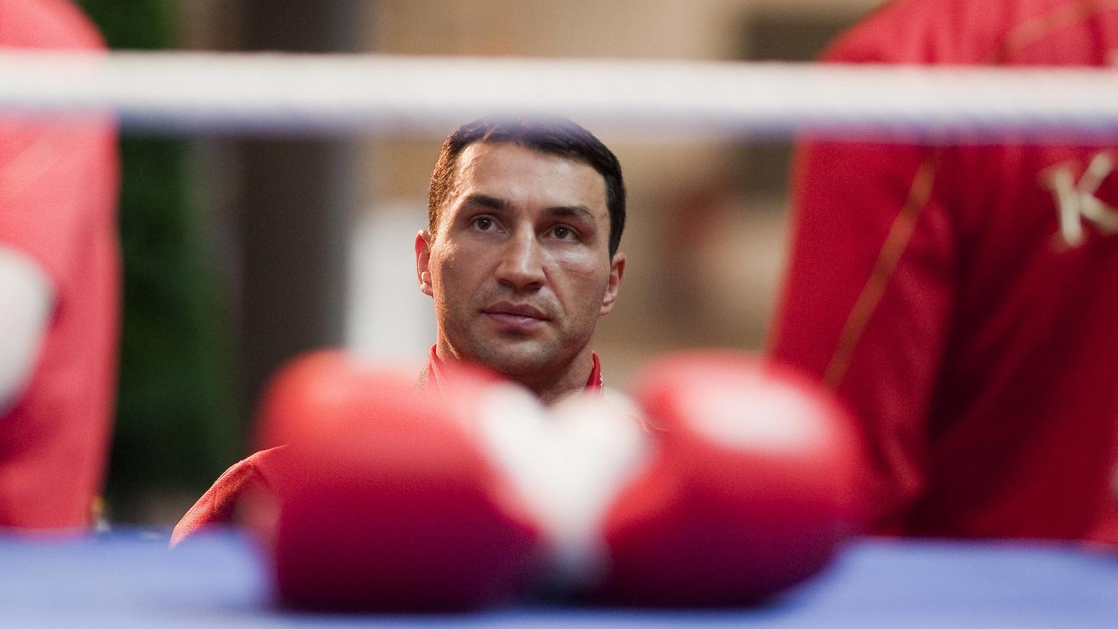 Wladimir Klitschko hat die Boxhandschuhe in die Ecke geschmissen