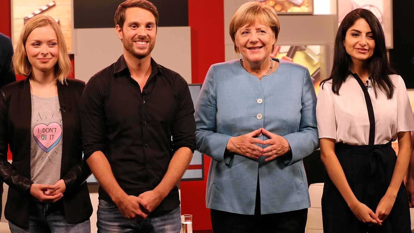Youtube Merkel Interview
