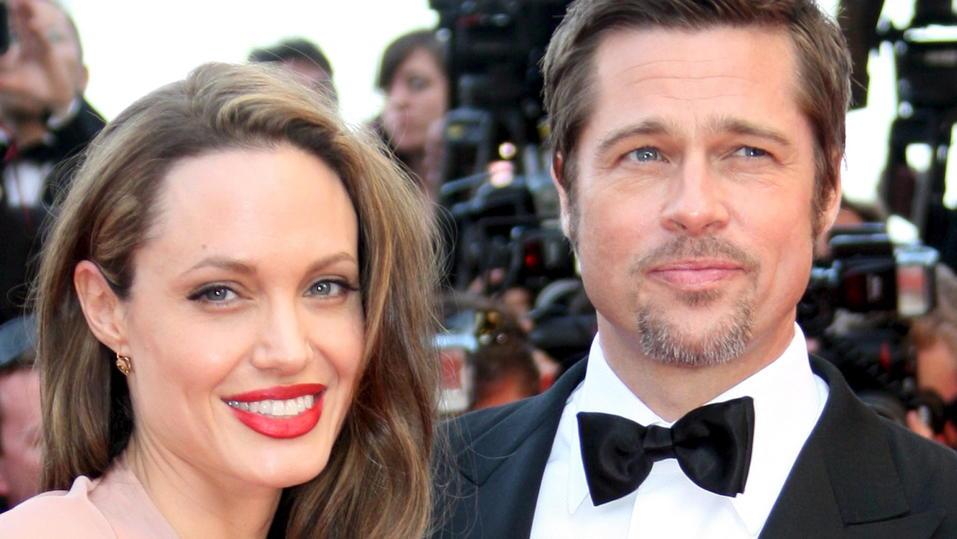 Angelina Jolie und Brad Pitt wohnen gar nicht weit von einander entfernt.
