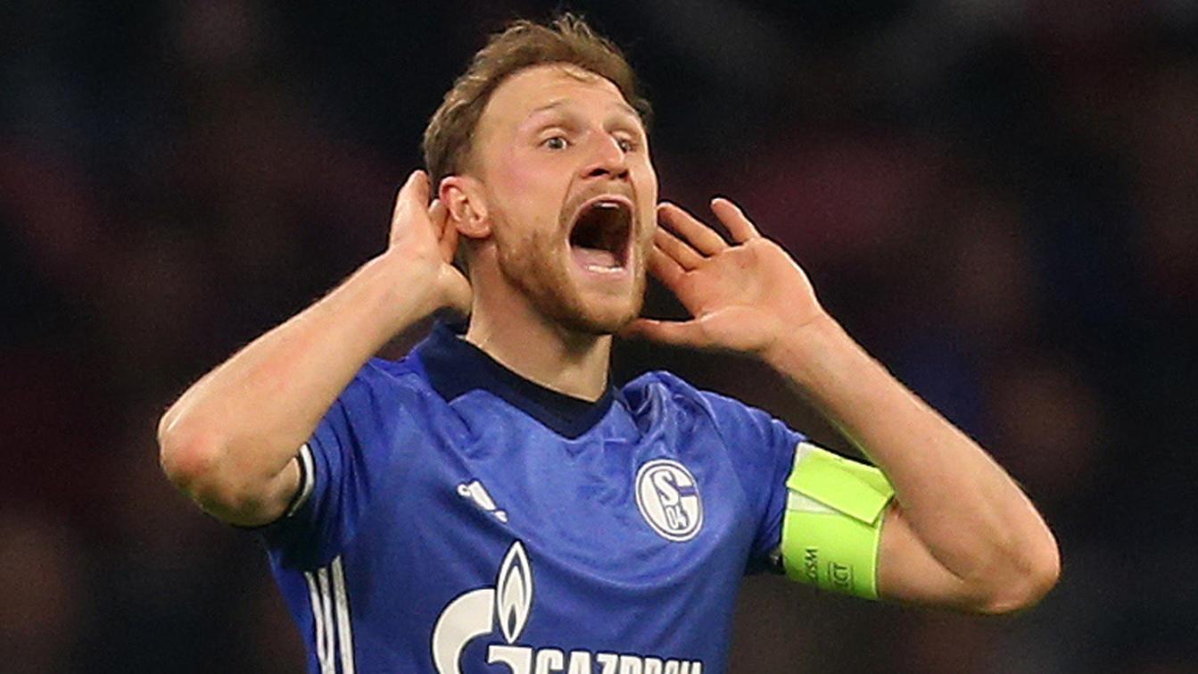 Benedikt Höwedes 2017 im Schalke-Trikot