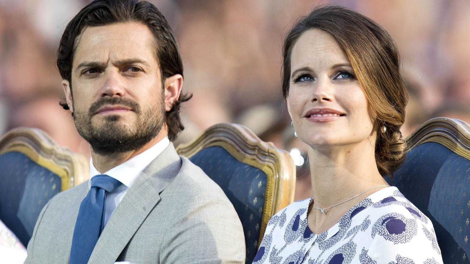 Prinz Carl Philip und Sofia sind mit Corona infiziert.