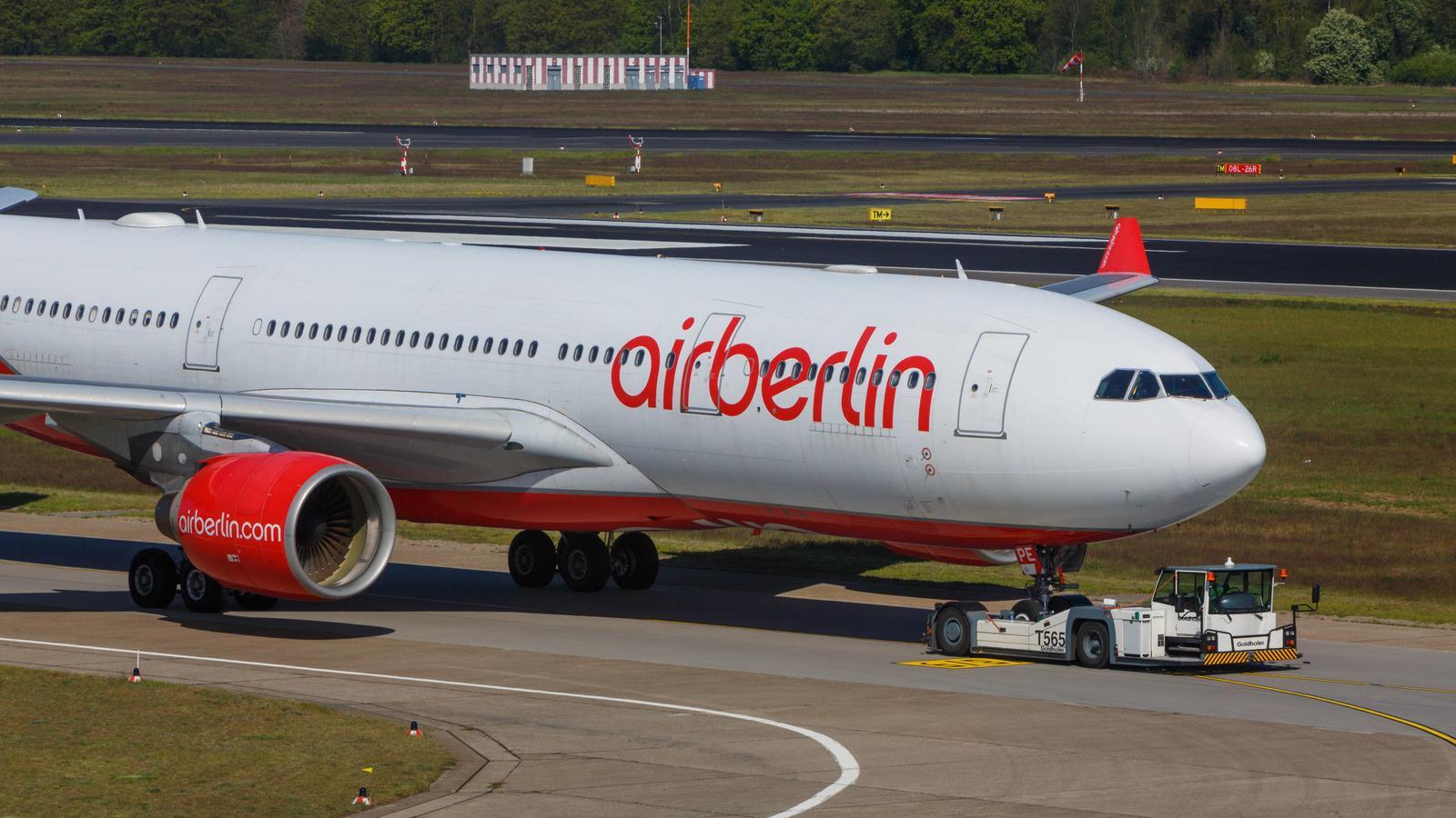 Laut eines internen Schreibens könnten 1.400 Air-Berlin-Mitarbeiter noch im Oktober arbeitslos werden.