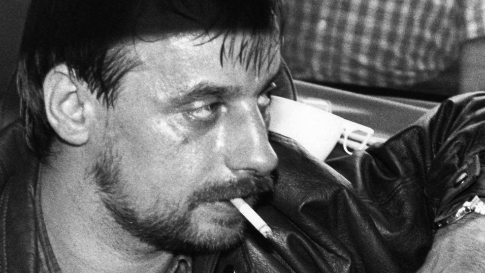 Dieses Foto des Geisel-Gangsters Dieter Degowski blieb vielen Menschen bis heute in Erinnerung.