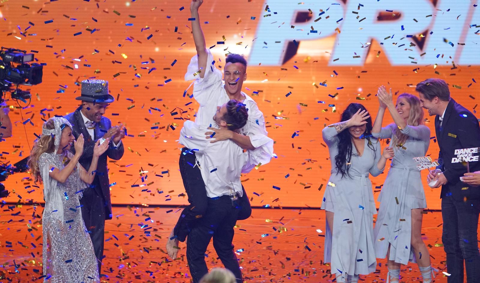 """Prince Damien und Luca Hänni gewannen """"Dance Dance Dance"""" 2017"""